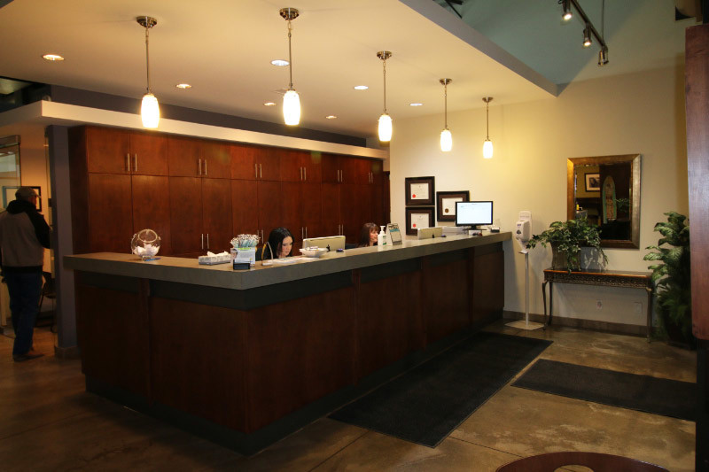 King Orthodontics Reception